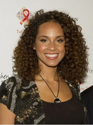 Chic Medium Curly Brown African American Lace Wigs for Women