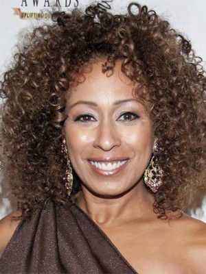 Personalized Short Curly Brown African American Lace Wigs for Wo