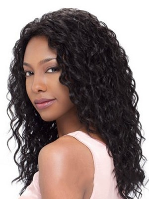 Impressive Long Curly African American Lace Wigs for Women 20 Inch