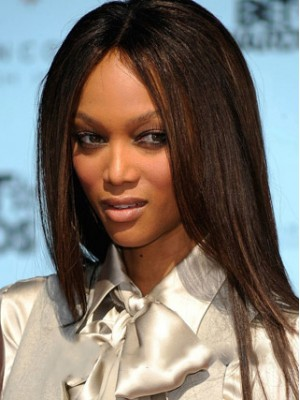 Long Straight African American Full Lace Wigs for Women 18 Inch