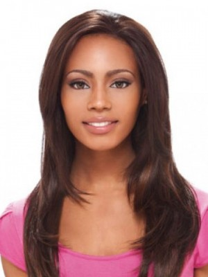 Lace Front Long Straight Synthetic Wig