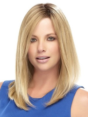 "14"" Straight Lace Front Synthetic Wig"