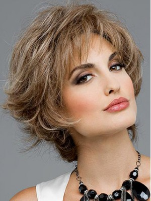 Short Capless Synthetic Wig