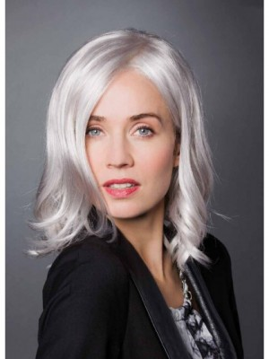 Beautiful Mid-length Synthetic Lace Front Wig