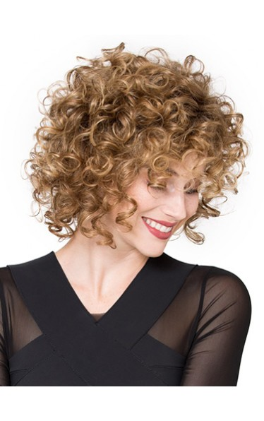 10 Inch Curly Incredible Synthetic Lace Front Wigs
