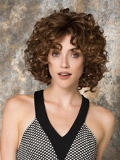 10 Inch Curly No-fuss Synthetic Lace Front Wigs