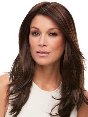 Flexibility 16 Inch Straight Layered Lace Front Wigs