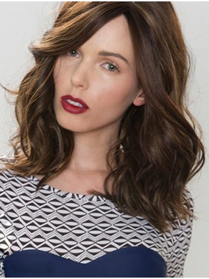 Convenient 14 Inch Wavy Layered Synthetic Wigs