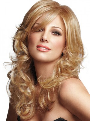 Soft Layers Curly Lace Front Style Wig