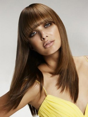 Beautiful Long Straight Capless Synthetic Wig