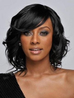 Trendy Medium Wavy Capless Wig