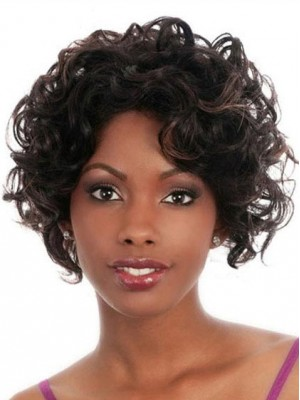 Best Short Wavy Capless Wig