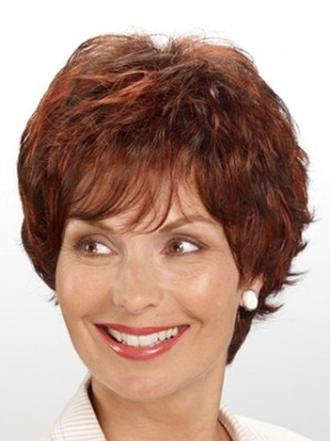 Lace Front Short Wavy Wig