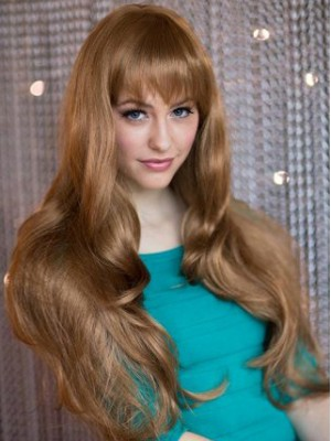 Long Wavy Layers Capless Wig