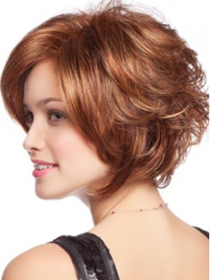 A Curly Bob Synthetic Fashion Wig