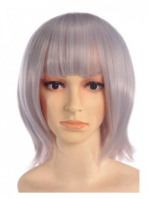 Maed Short Purple Wig Cosplay