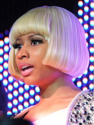 Nicki Minaj Short Synthetic Wig