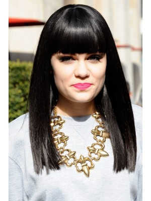 Jessie J Remy Human Hair Long Wig