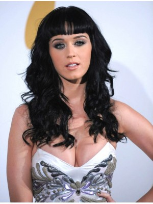 Katy Perry Long Wavy Synthetic Wig