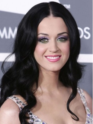 Katy Perry Synthetic Long Wavy Wig