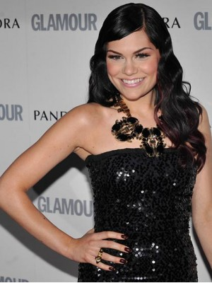 Wonderful Long Wavy Jessie J Remy Human Hair Lace Front Wig