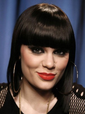 Prevailing Short Straight Jessie J Synthetic Capless Wig