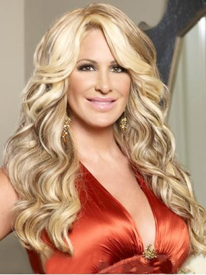 Luscious curls Kim Zolciak Synthetic Wig