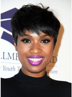 Jennifer Hudson Layered Razor Cut