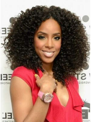 Curly Long Natural New Hairstyles Trend Wig