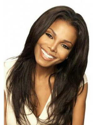 Janet Jackson Behind The Scenes Of Nutrisystem Hair Wig