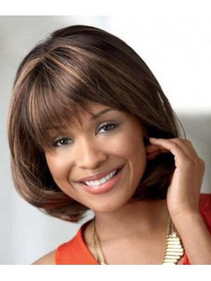 Updating Sleek Straight Layered mid-length wig