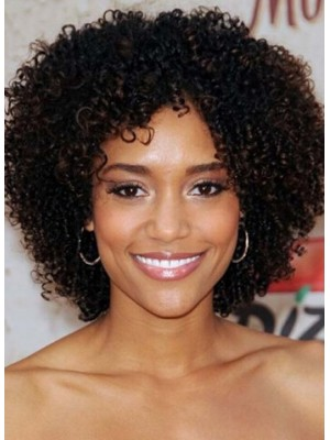 Best Natural Thick Curly Short African American Wig
