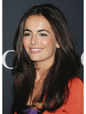 Camilla Belle Full Lace Long Remy Human Hair Straight Wig