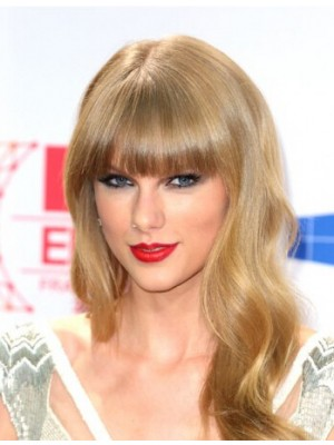 Taylor Swift Long Capless Wavy Synthetic Hair Wig