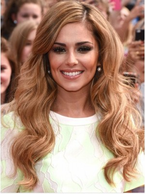 Cheryl Cole Long Capless Wavy Synthetic Hair Wig
