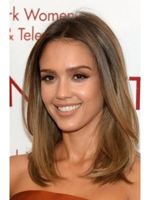 Jessica Alba Straight Full Lace Remy Human Hair Wig