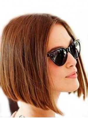 New Style Human Hair Straight Lace Front Wig