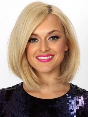 Comfortable Human Hair Lace Front Straight Wig