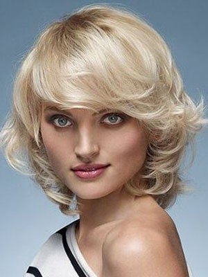 Admirable Wavy Capless Remy Human Hair Wig