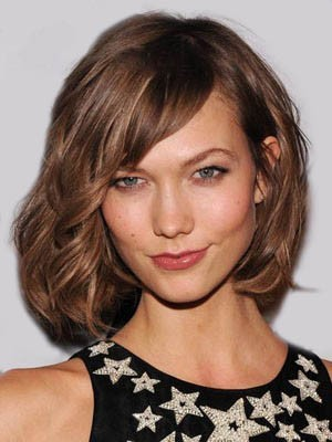 Admirable Wavy Human Hair Lace Front Wig