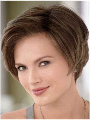 Comfortable Remy Human Hair Cancer Wigs