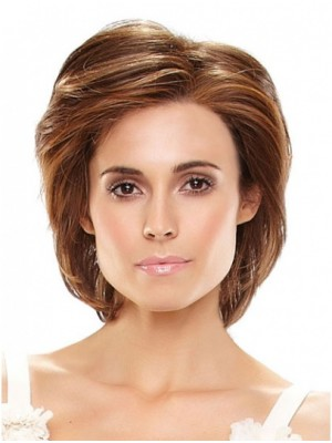 Chin Length Remy Human Hair 100 Hand-tied Wigs