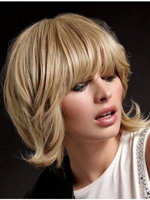 Blonde Straight Full Lace Remy Human Hair