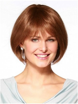 Convenient Remy Human Hair Cancer Wigs