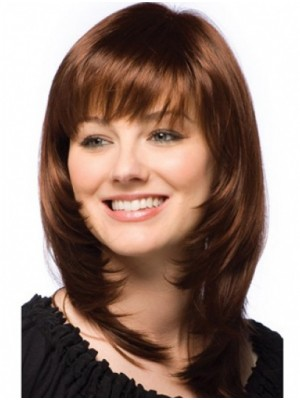 Brown Straight Capless Human Hair Wig