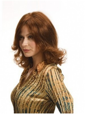 Full Lace Mid-length Wave Human Hair Wig
