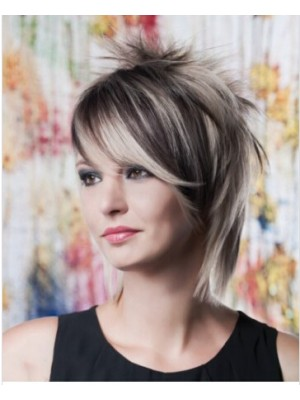 Layers And Spikes Capless Synthetic Wigs