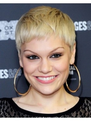Jessie J New Boycut Blonde Wig
