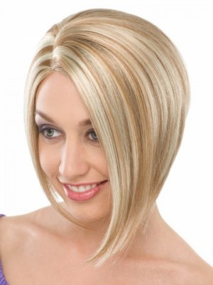 Smooth Sleek Short Bob Wig