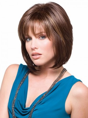 Short Straight Capless Bob Wig